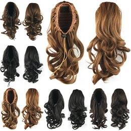 Wholesale Cute Extension - Wholesale-75g, cute wavy Ponytails, Synthetic hair ponytail, Hair Extensions