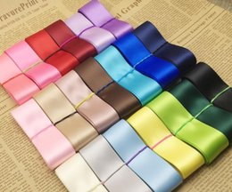 Wholesale Raw Materials - Free Delivery (100meters lot) 38 25mm High Quality Double Face Satin ribbon polyester wholesale Christmas Ribbons DIY handmade raw materials