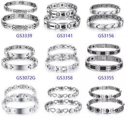 Canada FASHION BIJOUX BRACELET BRASSARD BANGLE 10 bracelets magnétiques d'énergie lot / lot LIVRAISON GRATUITE Offre