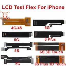 Wholesale Iphone Lcd Tester Flex - LCD Extension Tester Test Flex Cable for iPhone 4 4S 5 5C 5S SE 6 6 plus 6S 6S Plus 7 7 PLUS