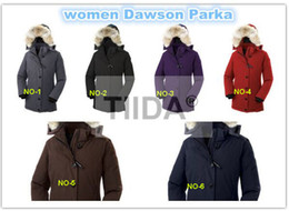 Wholesale Short Leather Jacket Hood - 1:1 Luxury Brand women jacket GOBI SOLARIS EXPEDITION winter coat thickening Female Clothes real thick fox fur collar hood down jacket