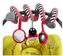 Wholesale New Mobil - Wholesale- 2015 new baby Mobil in the crib revolves around the bed stroller playing toy car lathe hanging baby rattle Mobile 0-12 months#44