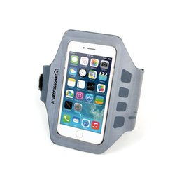 Wholesale Iphone 5s Gym - WINMAX Cheap Running Exercise Armband Running bag with Key Holder for iPhone 6S, 5, 5S, 5C Touchscreen Compatible Clear Cover running bag