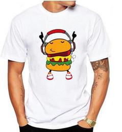 Wholesale Dj Cute - 2017 HanHent DJ Hamburg T-shirts Funny Man's Personality Cotton Summer Style Tshirts Music Cute Cartoon Best Friends Ser S-XXXL