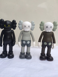 Wholesale Toy Factory Wholesale - 3pcs of lots 8 inch kaws Original Fake Companion toy kaws factory product fancy toy gift,( brown.black. grey)