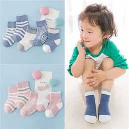 Wholesale Babies Childrens Socks - Cute dots baby socks Korean cartoon baby socks cotton comfortable anti-friction childrens socks style B free shipping