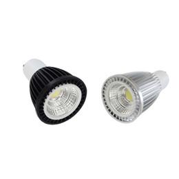 Wholesale 12v 7w E14 - Cree COB Led Light Bulbs 3w 5w 7w spotlight E27 GU10 E14 MR16 GU5.3 indoor lighting Lamp 110-240v