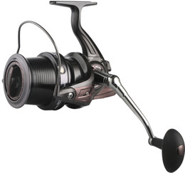 Giochi pesca alla carpa online-Big Game Long Shot Casting per Carp Surf Metallo Spinning Fishing Reel Saltwater HQ 9000 Series 13 + 1BB Cuscinetto Ruota distante