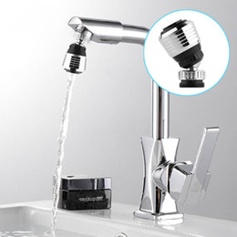 Wholesale Sink Faucet Adapter - 360 Rotate Swivel Faucet Nozzle Filter Adapter Aerator Diffuser Plastic Metal Water Saving Tap Kitchen Sink Basin Faucet