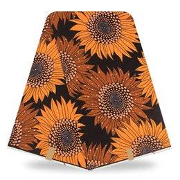 Wholesale Super Wax Hollandais New Design - New Hollandais Wax High Quality Super Wax Hollandais 2017 Real Dutch African Wax Print Floral Design For Nigeria Women Dress