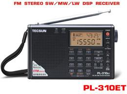 Canada Tecsun PL-310ET démodulateur radio numérique à bande complète FM / AM / SW / LW Radio stéréo tecsun pl-310et Offre