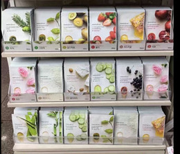 Wholesale Masking Sheet - 15 kinds INNISFREE Squeeze Mask Sheet Moisturising Face Skin Treatment Oil-control Facial Mask Peels Skin Care Pilate