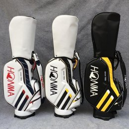 Wholesale Golf Cart New - 2017 New Golf bags 3 colors HONMA Golf cart bags high quality PU Clubs Golf equipment