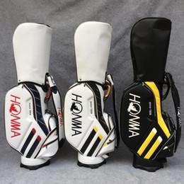 Wholesale Clubs Golf Bags - 2017 New Golf bags 3 colors HONMA Golf cart bags high quality PU Clubs Golf equipment