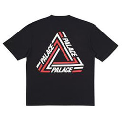 Wholesale Style For Men Tees - 2017 New Harajuku style Men's Letter Palace short sleeved t-shirt hip hop street style top tee tshirt for summer