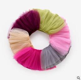 Wholesale Gauze Clothing Wholesale - TuTu Skirts 2017 Summer 5 Layer Tulle Babies tutu Skirt Gauze tutu Dress Baby Clothes Pettiskirt Dancewear Ballet Dress Fancy Skirts Costume