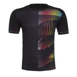 Wholesale Fast Clothes - Men's and women's badminton, badminton, tennis, sports shirts, T-Shirts, sports clothes, fast dry, breathable, free shipping