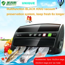 Wholesale Function Foods - High Value Multi Function Food Saver Vacuum Packing Machine With Roll Cutter ,Electric Vacuum Sealer