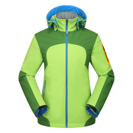 Wholesale Sport Winter Clothes For Women - Winter Women Fleece Softshell Sports Jacket Waterproof Windproof Outdoor Hiking Camping Trekking Climbing Clothing For Female