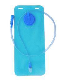 Bolsa de agua 2L Hidratación Boca de la bicicleta Vejiga de agua Deporte al aire libre Correr Acampar Ciclismo Senderismo Bolsas de agua - Azul desde fabricantes