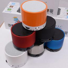 Haute Qualité Nouveau S10 Bluetooth Haut-Parleur Extérieur Haut-Parleur Mains Libres Mic Stéréo Portable Haut-parleurs TF Carte Appel Fonction No Logo Dans Boîte De Détail ? partir de fabricateur
