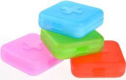 Новый 4 Слот Здоровье Медицина Таблетки Чехол Портативный Организатор Box Контейнер Для Хранения от