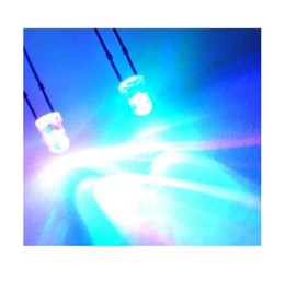 Wholesale Led Diode Blue 3mm - MIX Red Green Blue Yellow White Flashing LED 3mm blinking led diode Ultra Bright