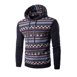 Wholesale Ethnic Sweatshirt - Wholesale-2016 New Fashion Hoodie Men Patchwork Stitching Raglan Sleeve Ethnic Style Hoodies Casual Male Sweatshirt Tracksuits Masculino Q