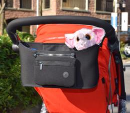 Wholesale Wholesale Diaper Sales - hot sale Baby Stroller bag Nappy Diaper bag carriage hanging basket storage organizer bolsa maternidade para bebe Stroller Accessories