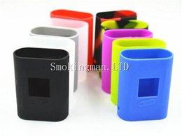Wholesale Soft Rubber Sleeves - SMOK AL85W Silicone Case Soft Rubber Sleeve case bag SMOK AL85 Protective Cover Skin case for Smoktech Smok AL85W TC Box Mod