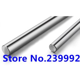 Wholesale Linear Guide Rails - Wholesale- linear shaft 8mm 250mm long harden linear rod chrome plated linear motion guide rail round rod Shaft for cnc parts