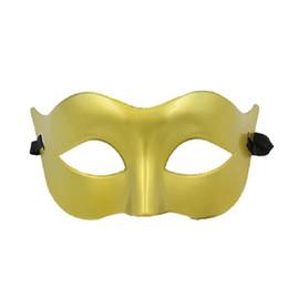 Wholesale Wholesale Plastic Mardi Gras Masks - party masks Lovely Mardi Gras masks Fancy festive and party supplies Half-face solid color plastic WA2319