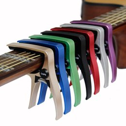 Canada Guitar Capo pour guitares acoustiques et électriques Matériel en aluminium total Guitar Accessories Offre