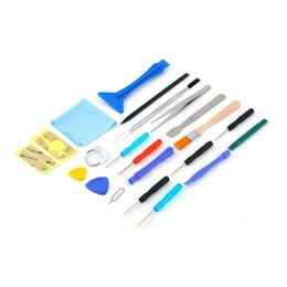 Al por mayor para la tableta del teléfono celular 22 en 1 teléfono abierto Pry reparación de destornilladores del teléfono móvil lechón herramientas de mano Set Kit venta al por mayor desde fabricantes