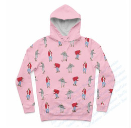 Wholesale Womens Bling - Newest Fashion Womens Mens Drake Hotline Bling Dance Moves Funny 3D Print Casual Crewneck Hoodies Plus Size LMS00010