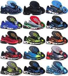 Wholesale Chocolate Footwear - 39 Colors Wholesale High Quality Hot Sale TN Men's Running Sport Footwear Sneakers Trainers Shoes size 7-12
