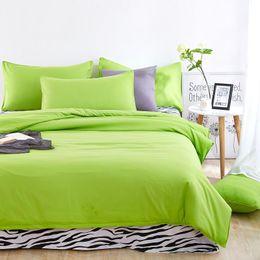 Wholesale Zebra Bedding Twin - Wholesale-Brief fashion Colorful zebra bedding set queen full twin size bed linen setsale bedclothes duvet cover bed sheet pillowcases