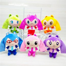 Wholesale Dolls Vocaloid Miku - Vocaloid Hatsune Miku Plush Toy Doll 20cm Green Hatsune Miku Soft Stuffed Toys Figure Toy for Girls Birthday Gifts Free Shipping