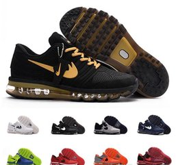 Wholesale Mens Leather Walking Shoes - 2017 new mens maxes KPU running shoes sports Shoes NANOTECHNOLOGY WALKING casual Trainers sneaker,size EUR 40-46