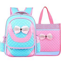 Wholesale Princess Peach Backpack - 2017 New Children Waterproof School Bags Hot Sale School Kid Backpack Princess Girl Super Light Combination Boy Primary School Students