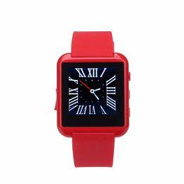 Reloj mp3 bluetooth resistente al agua online-Bluetooth reloj inteligente NX8 impermeable WristBand Sport MP3 BT cámara podómetro para teléfonos iOS iOS