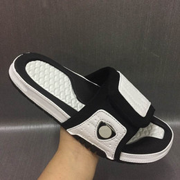Wholesale Sports Indoors - 2017 Fashion Retro 5 slippers sandals Hydro IV 14 2 8 Slides more colors Free shipping shoes casual shoes outdoor sneakers size 40-46