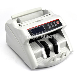 Máquinas para contar billetes online-Al por mayor-2200D Digital Display Money Counter adecuado para EURO US DOLLAR Bill Counter Cash Counting Machine