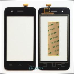 2019 écran tactile en gros Gros-Autocollant de haute qualité capteur tactile pour Explay ONYX Smartphone écran tactile Digitizer avant verre de remplacement TouchScreen promotion écran tactile en gros
