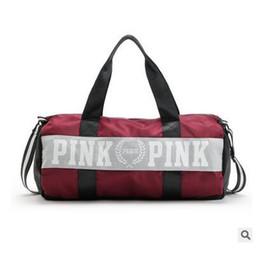 Wholesale Handbag Men - Designer Handbags Luxury Women Bags High Quality Brand Handbags Pink Travel Bag Waterproof Victoria Casual Beach Luggage Designer VS Bags