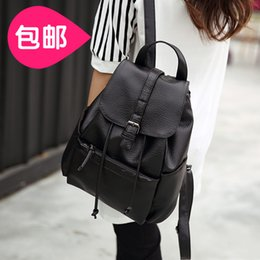 south korean style backpacks Promo Codes - Wholesale- Backpack Backpack Bag female Korean Pu tide South Korea small fresh students all-match mini bag, 2016 new wind