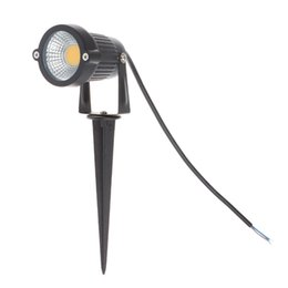 Wholesale Outdoor Garden Pond - AC85-265V DC12V Led COB Lawn Lamps 3W IP65 Waterproof LED Flood Spot Light Bulb For Garden Pond Path Outdoor Lighting with Insert Needle Pin