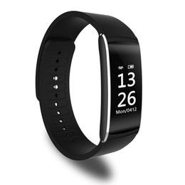 Wholesale Wholesale Gps Heart Rate Watches - New Z6 plus smartbracelet bluetooth Sport wristband waterproof watch silicone smartband 30pcs per lot for iphone