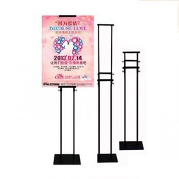 Wholesale Display Ads - Single AD stents Double sided Lift KT plate easel office Pop display shelf custom wholesalers and reinforced