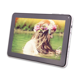 Wholesale Allwinner Quad - Quad Core 9 inch A33 Tablet PC with Bluetooth flash 1GB RAM 8GB ROM Allwinner A33 Andriod 4.4 1.5Ghz US02
